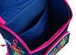 Рюкзак каркасный 1 вересня Smart PG-11 Flowers blue 554464, фото 5