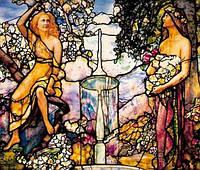 """Алмазная мозаика """"В саду"""", 30*40см, без рамки"""