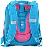 Ранец каркасный YES Н-12 Shelbу Hearts turquoise 554490, фото 3