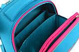 Ранец каркасный YES Н-12 Shelbу Hearts turquoise 554490, фото 5