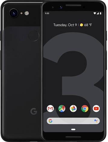Смартфон Google Pixel 3 4/64GB (Just Black / White), фото 2