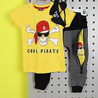 26487 Костюм футболка, штани, маска пірата пр-ль Туреччина розмір 1-2,2-3 роки
