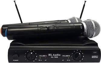 Радиосистема HL Audio HL7020 VHF 178.5-186.5 МГц с двумя ручными микрофонами