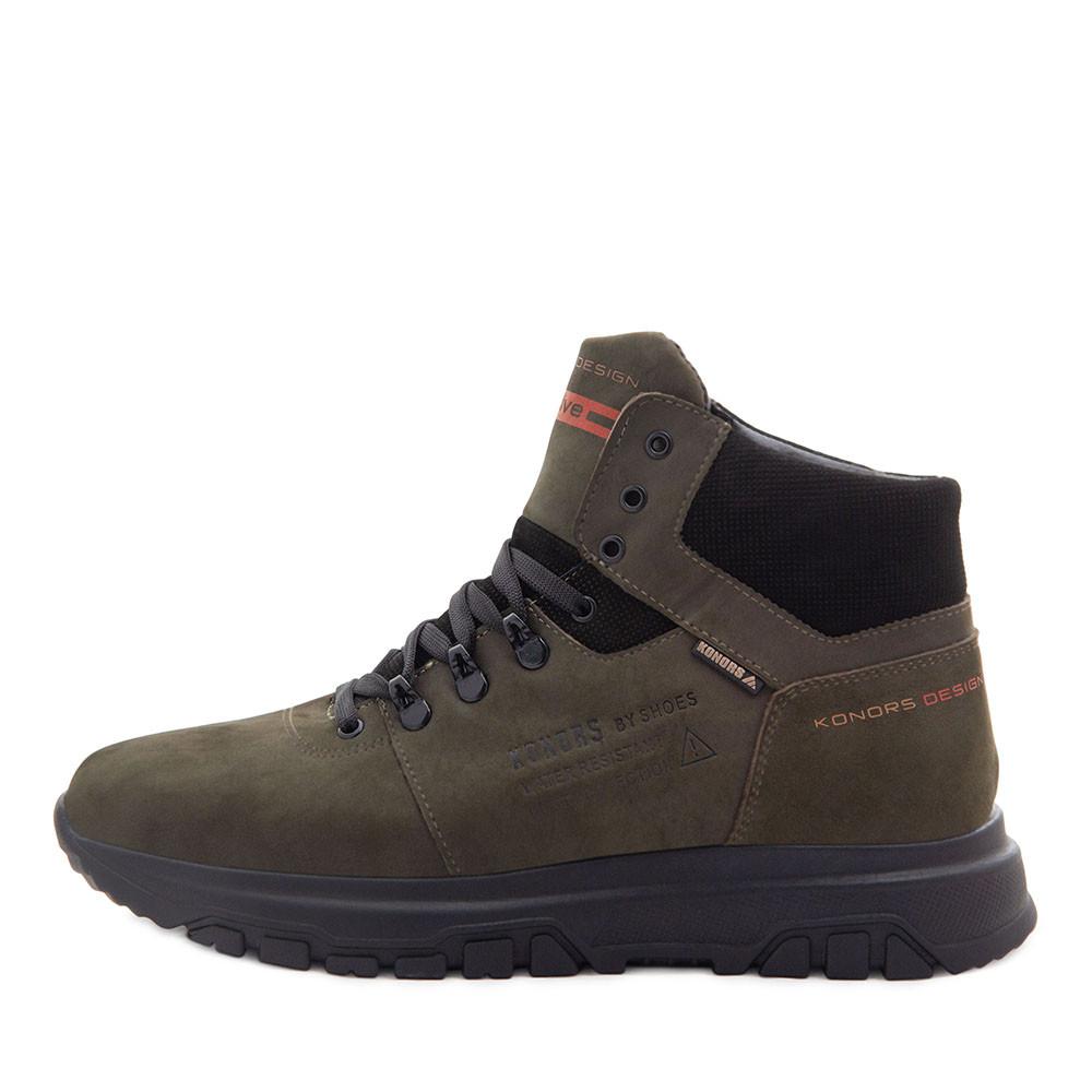 Ботинки зимние мужские Konors MS 22448 зеленый (40)