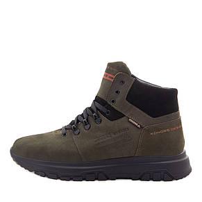 Ботинки зимние мужские Konors MS 22448 зеленый (40), фото 2