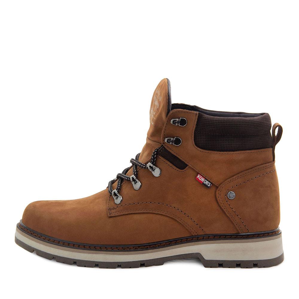 Ботинки зимние мужские Konors MS 22437 рыжий (40)