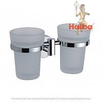 Стакан для зубных щеток двойной HAIBA HB1708