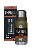 Термос Tramp Expedition Line 0,5 л оливковый, фото 1