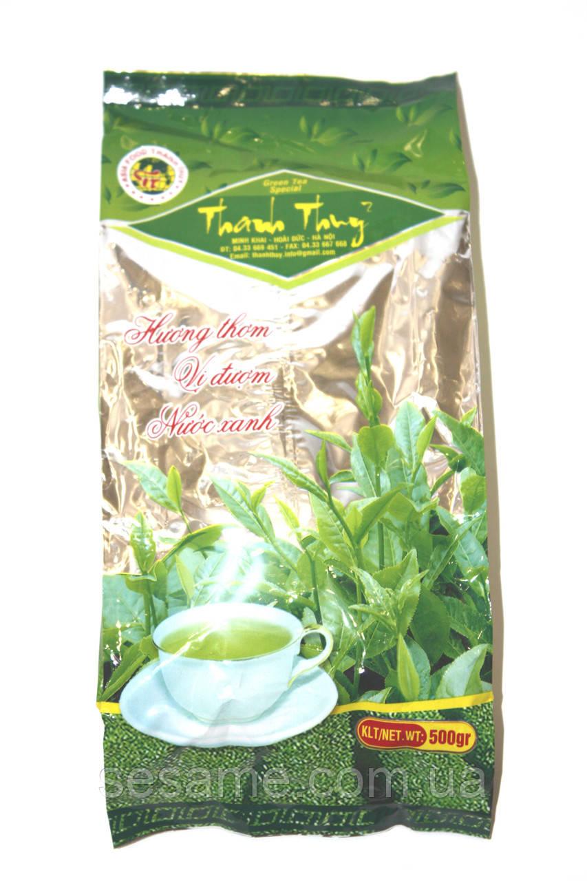 Вьетнамский Зеленый чай листовой Thai Nguyen Thanh Thhny 450грамм (Вьетнам)