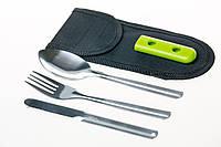 Набор ложка/вилка/нож Tramp TRC-052, фото 1