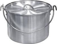 Котел алюминиевый с крышкой Tramp 13 л, фото 1