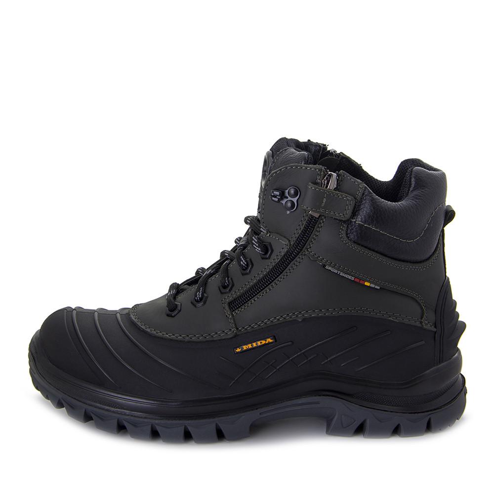 Ботинки зимние мужские MIDA MS 22376 хаки (40)