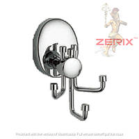 Крючок для ванной ZERIX LR3305-3