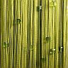Шторы нити ЛЮКС ГУСТЫЕ с алмазными бусинами  оливковые
