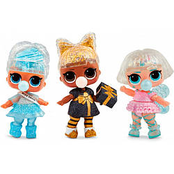 Игрушка кукла Lol шарик светящийся большой Glitter Globe Winner Disco NEW