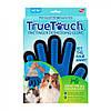 Рукавичка для вичісування шерсті тварин True Touch, фото 2