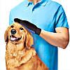 Рукавичка для вичісування шерсті тварин True Touch, фото 4