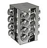 Набор баночек для специй Benson BN-175 из 16 сосудов   спецовник 16 шт на подставке, фото 2