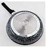 Сковорода с гранитным покрытием Benson BN-517 (28*6см), крышка, индукция, бакелитовая ручка | сковородка, фото 4