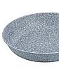 Сковорода глубокая с гранитным покрытием Benson BN-520 (28*8см), крышка, индукция, ручка бакелит  сковородка, фото 2