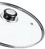 Сковорода глубокая с гранитным покрытием Benson BN-520 (28*8см), крышка, индукция, ручка бакелит  сковородка, фото 4