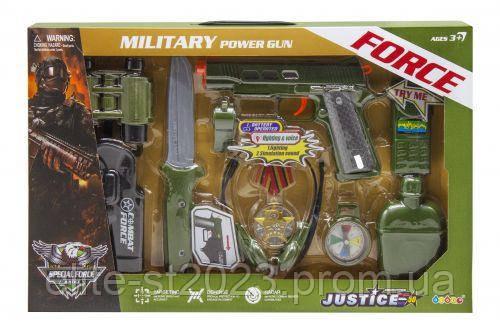 """Военный набор """"Military Power Gun"""" 34360"""