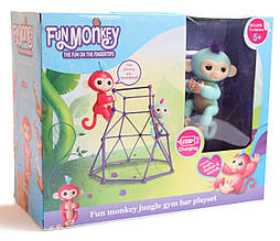 Комплект Fingerlings Jungle Gym PlaySet + інтерактивна мавпочка Zoe (606206102)