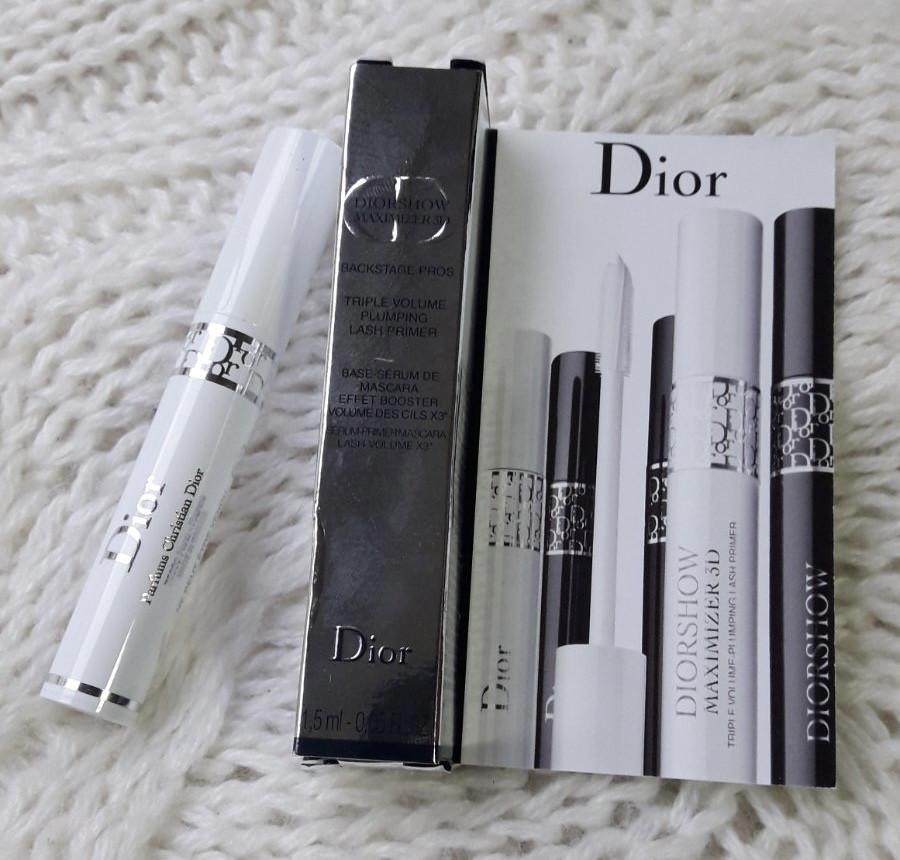 Основа под тушь максимайзер для ресниц DIOR Diorshow Maximizer 3D