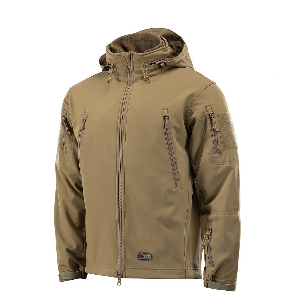 M-Tac куртка Soft Shell з підстібкою Tan зимова