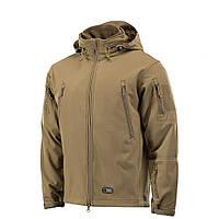 M-Tac куртка Soft Shell с подстежкой Tan зимняя