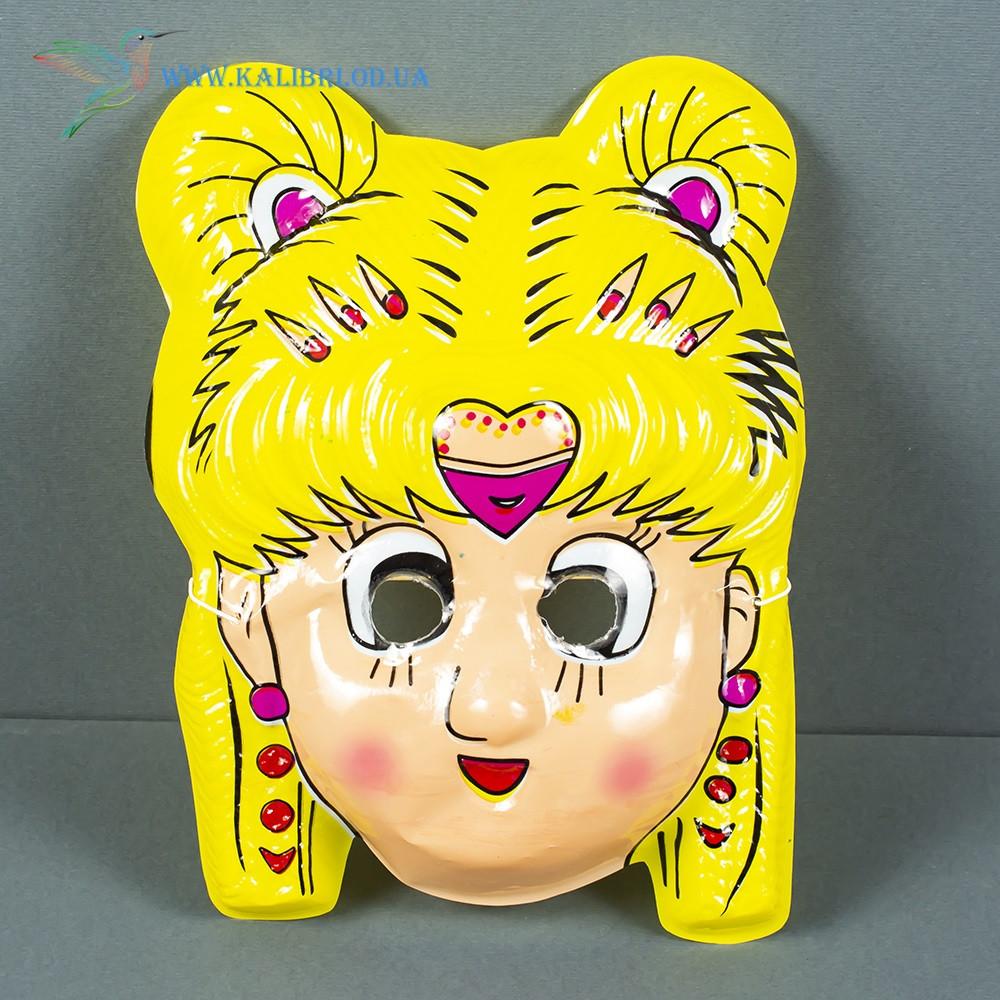Карнавальна дитяча маска для ранку Дівчинка МТК-103-63