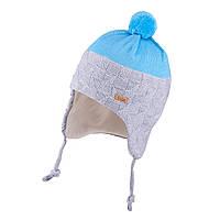 Зимняя шапка для мальчика TuTu арт. 3-005199(50-54), фото 1