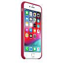 Чохол Apple Silicone Case для iPhone 7 Rose Red (1652), фото 4