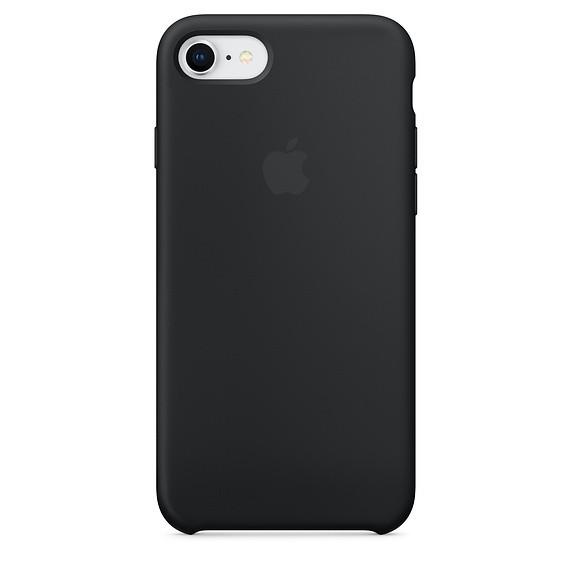Чохол Apple Silicone Case для iPhone 8 Black (16566)