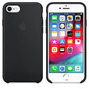 Чохол Apple Silicone Case для iPhone 8 Black (16566), фото 2