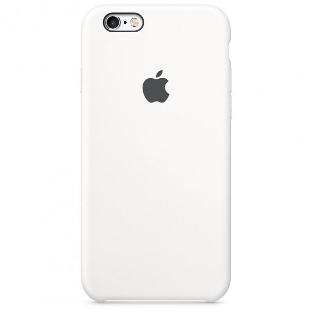 Чехол Apple Silicone Case для iPhone 8 White (1665)