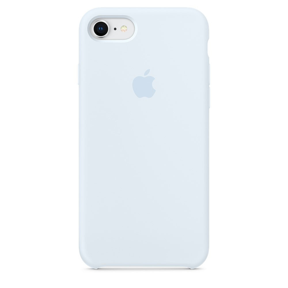 Чехол Apple Silicone Case для iPhone 8 Sky Blue (1663)
