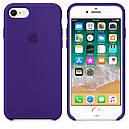Чехол Apple Silicone Case для iPhone 7 Ultra Violet (16544), фото 2