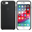 Чехол Apple Silicone Case для iPhone 7 Plus Black (16666), фото 3