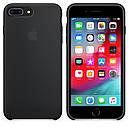 Чехол Apple Silicone Case для iPhone 7 Plus Black (16666), фото 4
