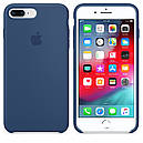 Чехол Apple Silicone Case для iPhone 7 Plus Blue Cobalt (1667), фото 2