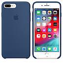 Чехол Apple Silicone Case для iPhone 7 Plus Blue Cobalt (1667), фото 3
