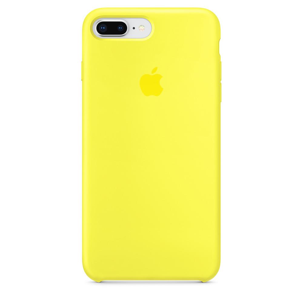 Чехол Apple Silicone Case для iPhone 7 Plus Flash (1668)