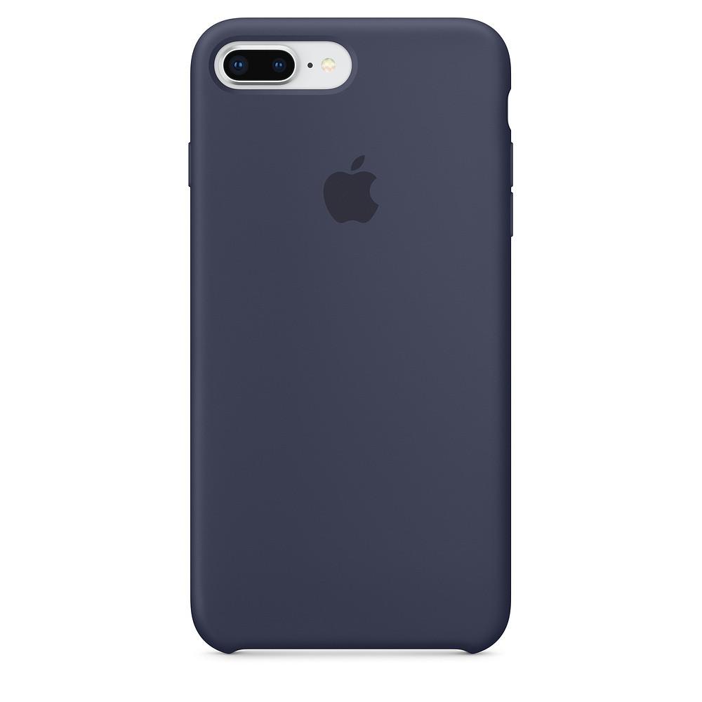 Чехол Apple Silicone Case для iPhone 7 Plus Midnight Blue (1669)