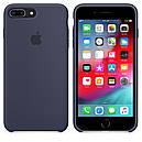Чохол Apple Silicone Case для iPhone 7 Plus Midnight Blue (1669), фото 4