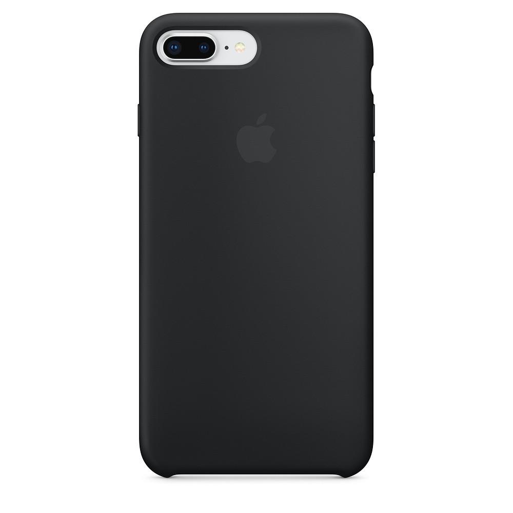 Чехол Apple Silicone Case для iPhone 8 Plus Black (1676)