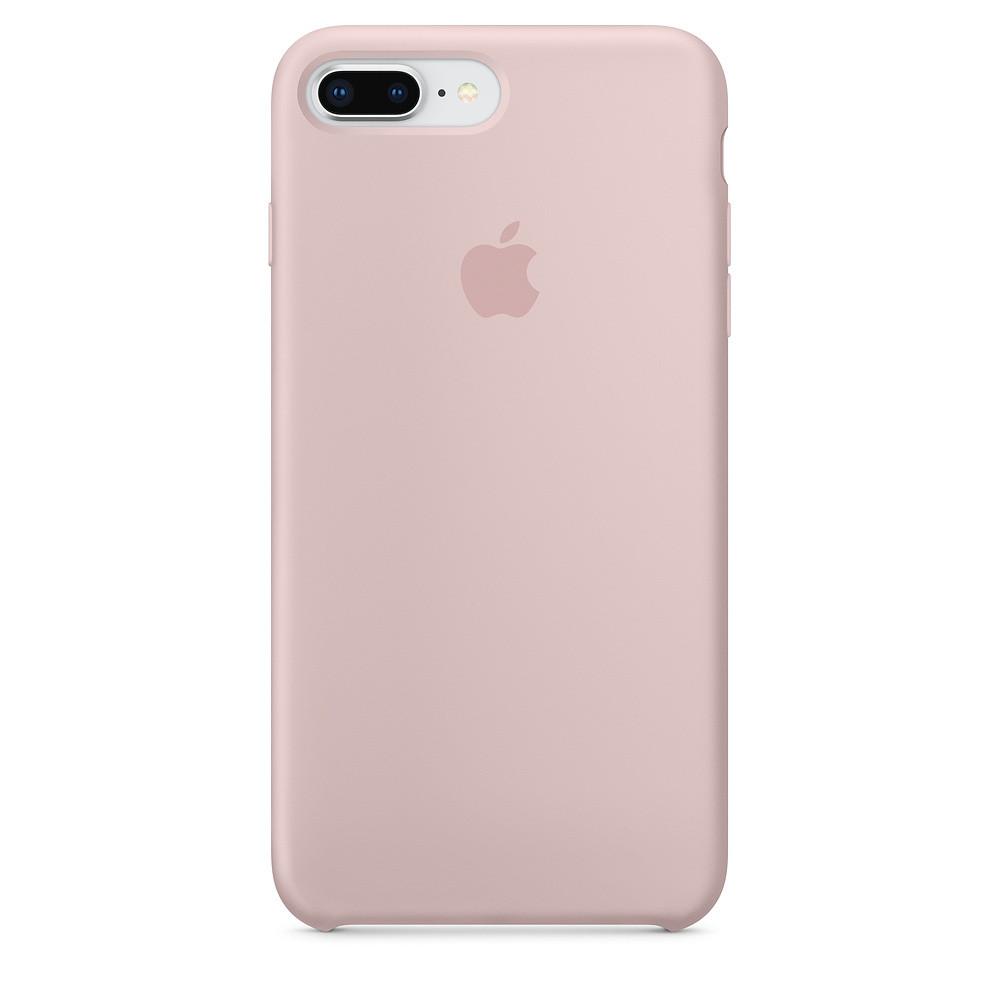 Чехол Apple Silicone Case для iPhone 8 Plus Pink Sand (1680)