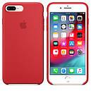 Чохол Apple Silicone Case для iPhone 8 Plus Red (1681), фото 2