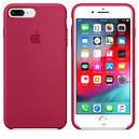 Чохол Apple Silicone Case для iPhone 7 Plus Rose Red (1672), фото 3