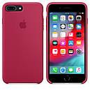 Чохол Apple Silicone Case для iPhone 7 Plus Rose Red (1672), фото 4